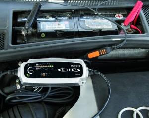 CTEK MXS 5.0 Ladegerät - Powerpaket